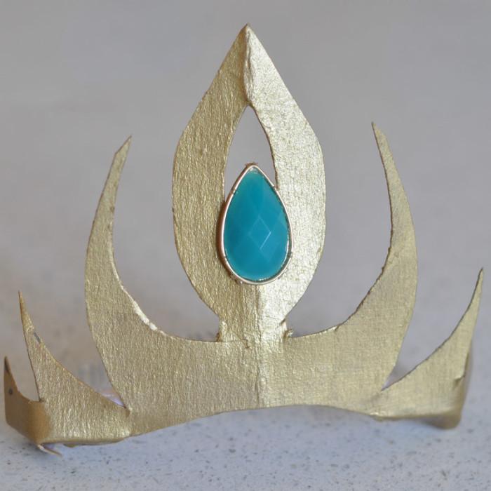 Elsa Crown- shining gold - Suburble.com-1