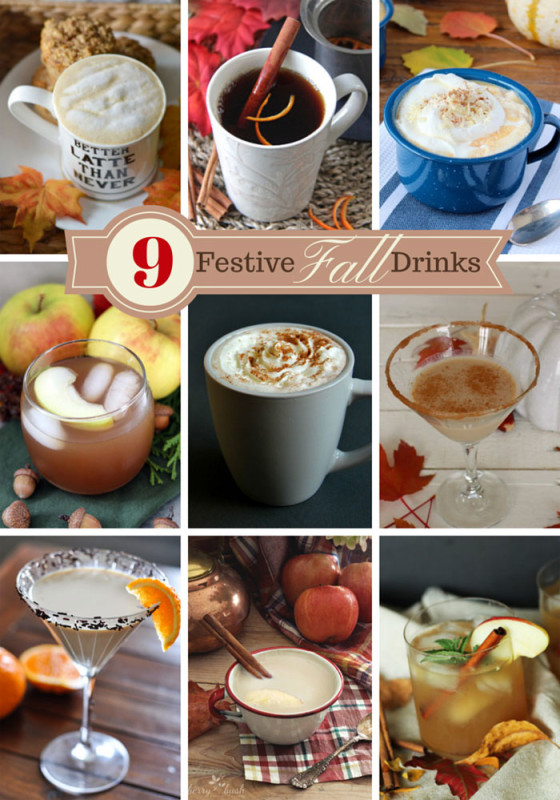 Festive Fall Drinks