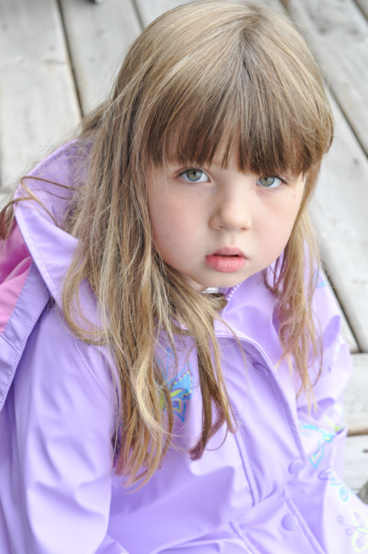 Lila and her coat  - Suburble.com-1