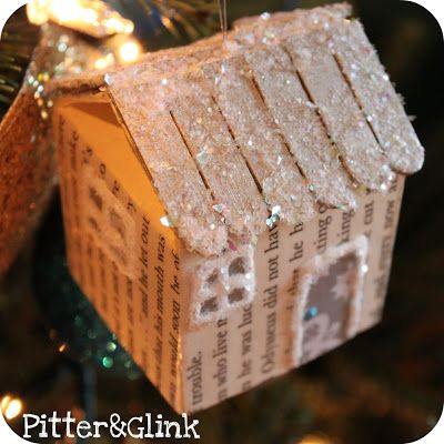 Milk Carton Ornament