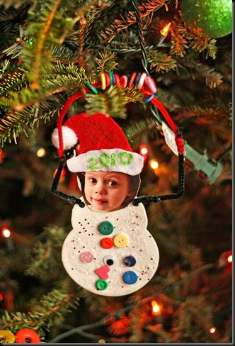 30 kid friendly handmade christmas ornaments suburble for Christmas decoration crafts for kids
