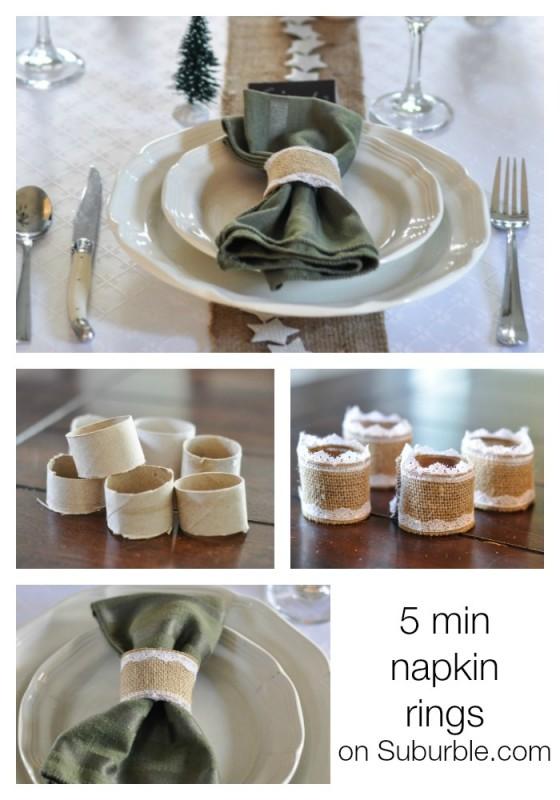 5 Min Napkin Rings