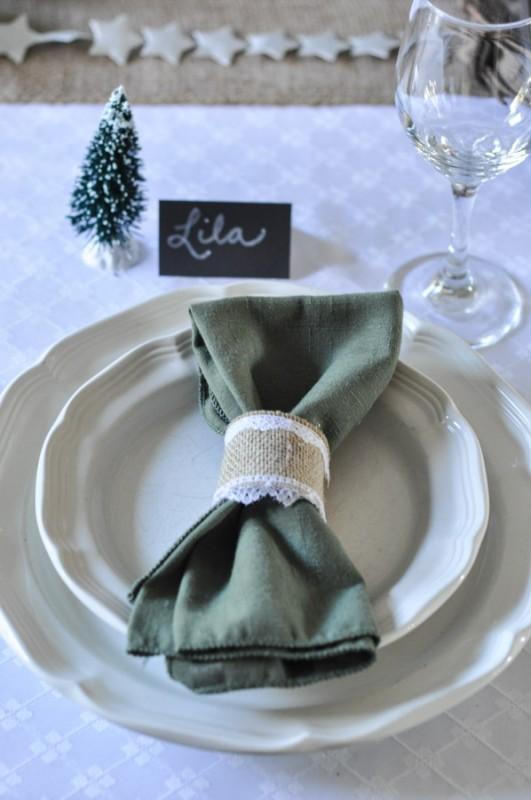 Burlap Lace Ribbon Napkin Ring - Suburble.com-1