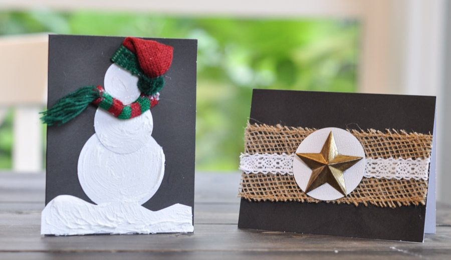 Rustic Christmas Cards