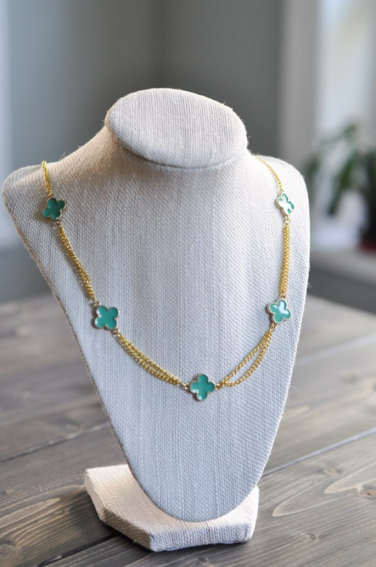 Clover Necklace - Suburble.com-1