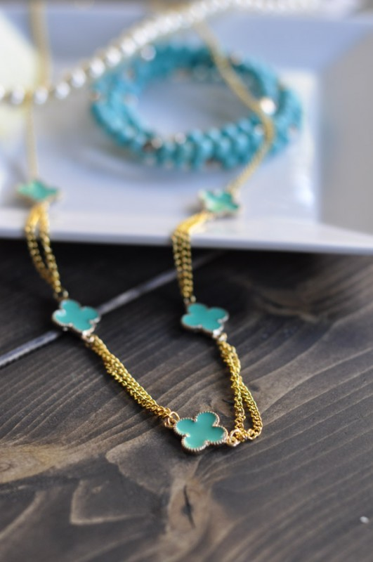 Clover Necklace Tutorial - Suburble.com-1