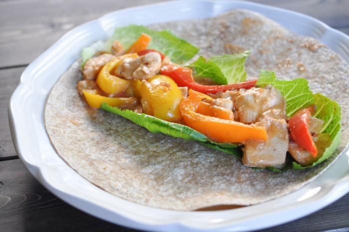 Monterey Chicken Fajita Recipe-1