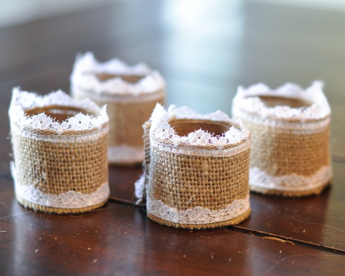 Paper Tube Napkin Ring Tutorial -1