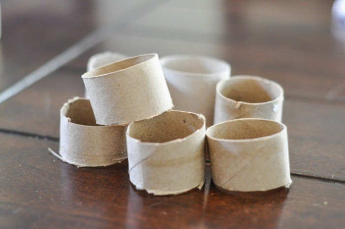 Paper Tube Napkin Rings-1