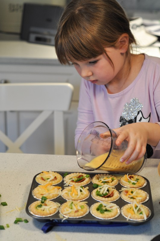 Pouring In Egg -  Quiche - Suburble.com-1