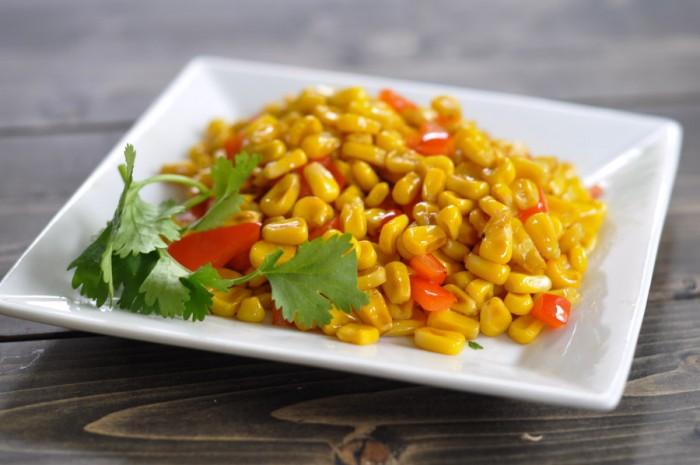 Stir Fried Corn Recipe with Coconut Chilli Sauce - Suburble.com-1