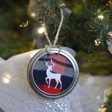 Mason Jar Lid Ornament-6