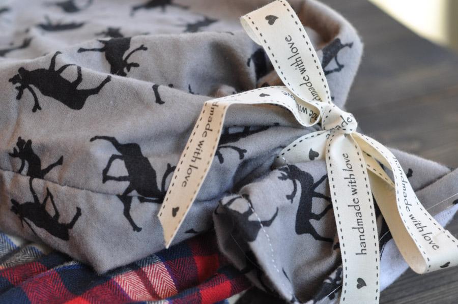 Make Your Own Reusable Christmas Wrap! - Suburble
