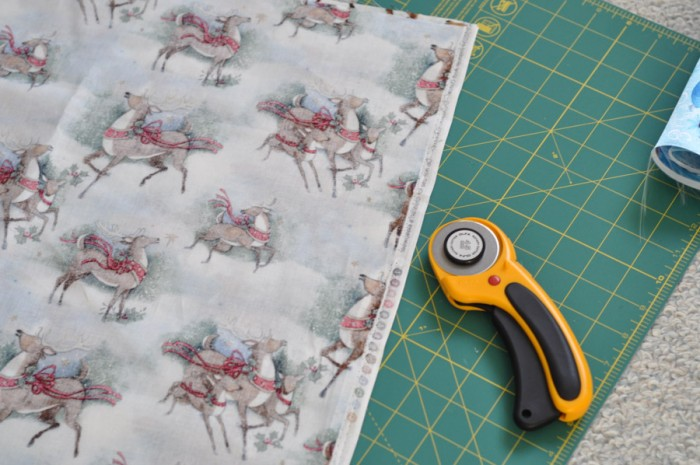 Reusable Gift Wrap Tutorial -1