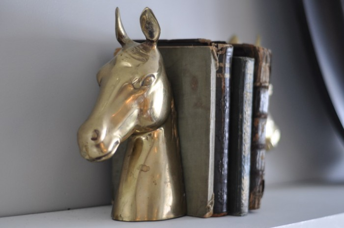 Brass Horse Heads - To Paint or Not To Paint?-1