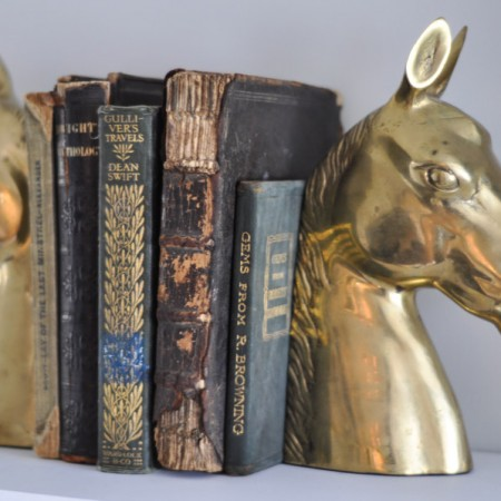 Brass Horse Heads - To Paint or Not To Paint?-3