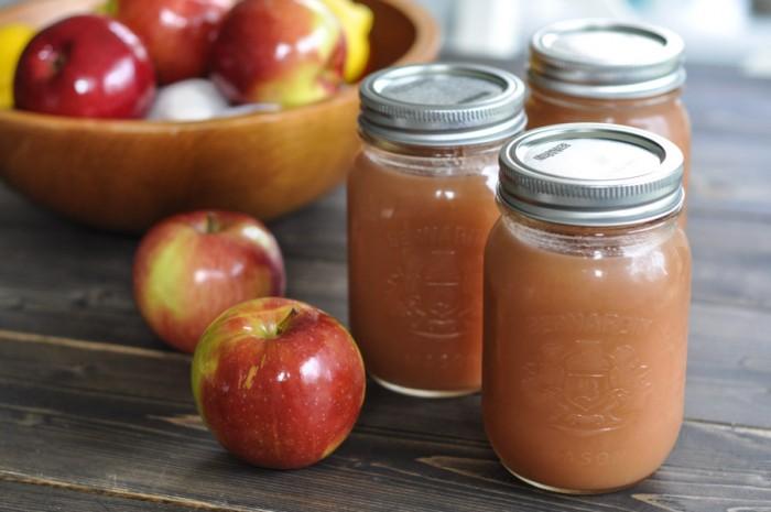 Crockpot Applesauce -4