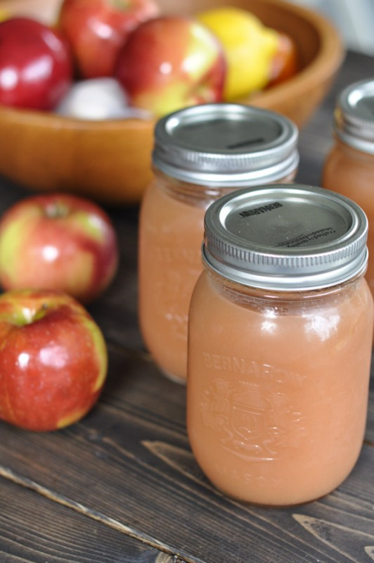 Crockpot Applesauce -5