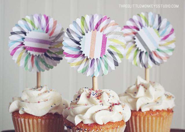 DIY-rosette-cupcake-toppers-2
