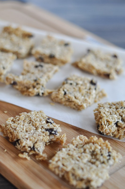 Granola Bars with Oats and Honey-3