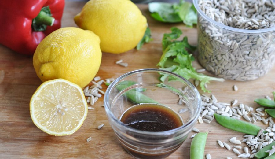 Honey and Hoisin Vinaigrette