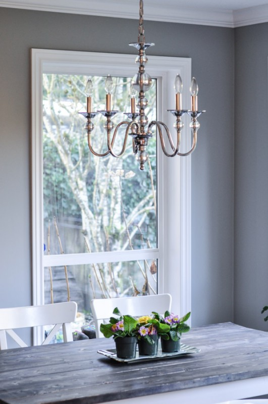 Kitchen Nook - Chrome Chandelier-1