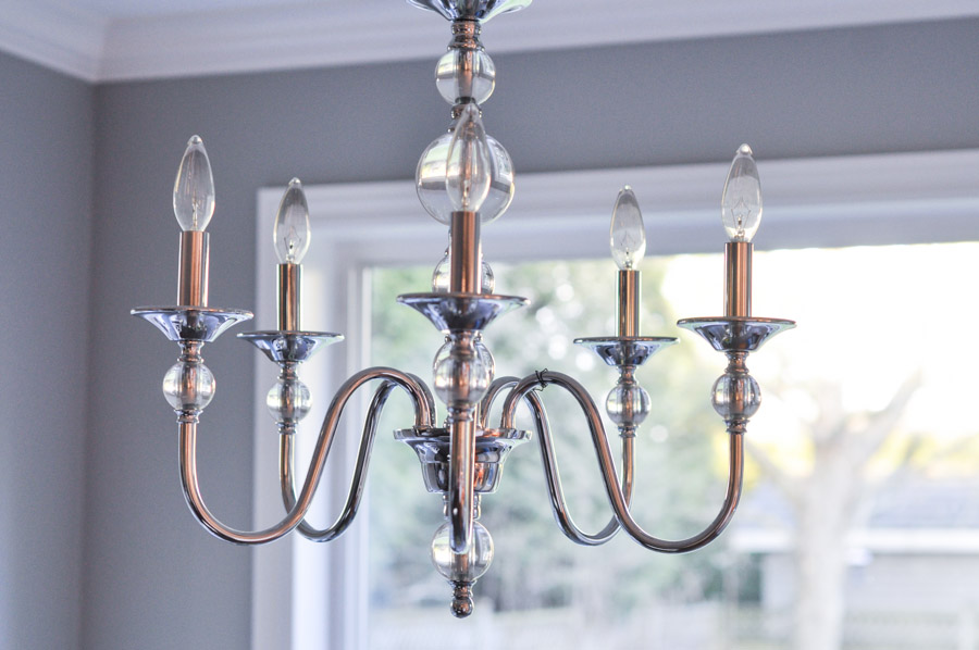 Home Depot Crystal Chandelier: Shedding Some Light On The Subject: Our Kitchen Nook