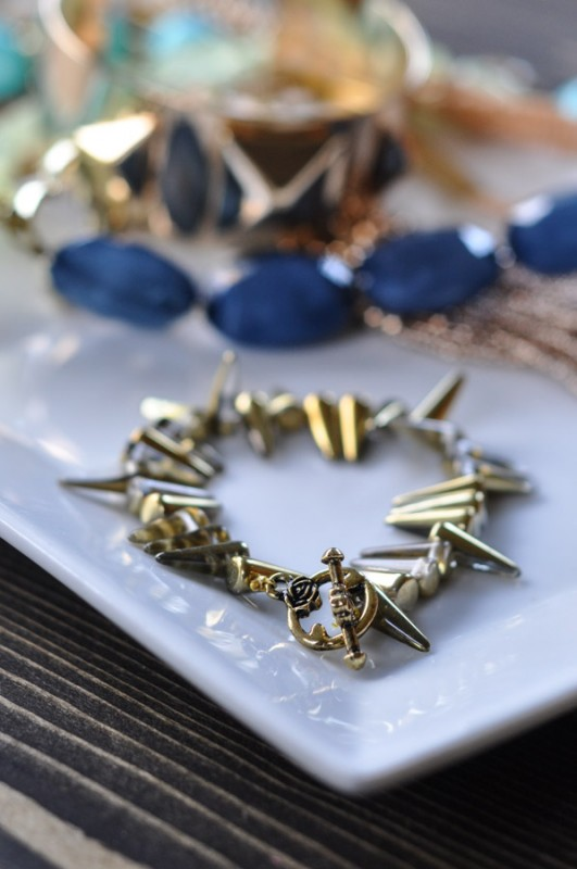 Spike Necklace - A Stella and Dot Knock-Off-7
