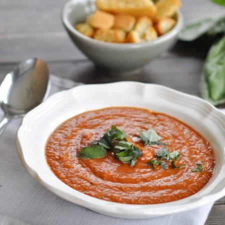 Tomato Basil Soup-1