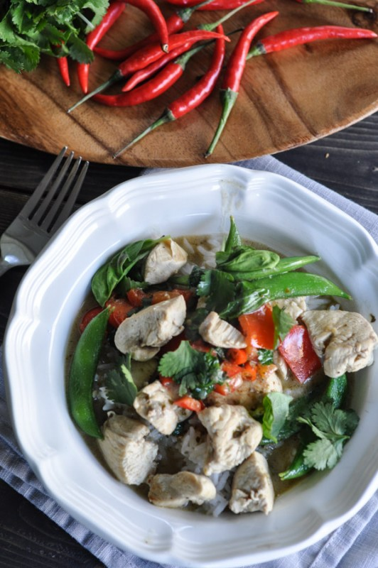 Green Curry Thai Chicken Recipe-3