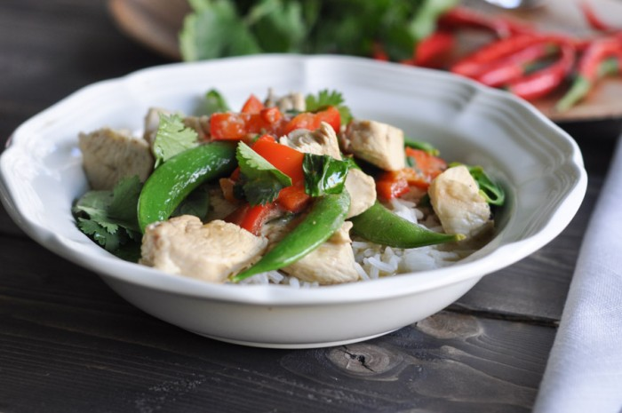 Green Curry Thai Chicken Recipe-5
