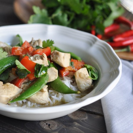 Green Curry Thai Chicken Recipe-8