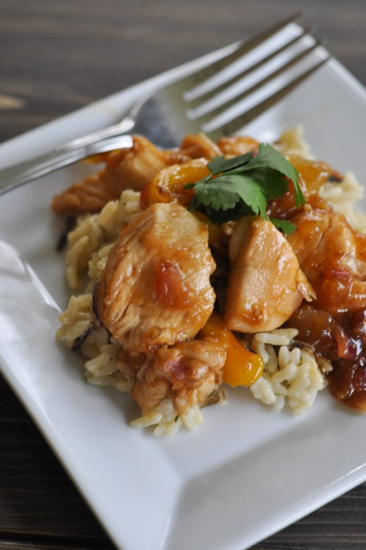 Mango Chutney Chicken-4