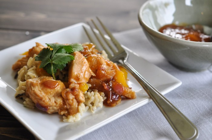 Mango Chutney Chicken-5