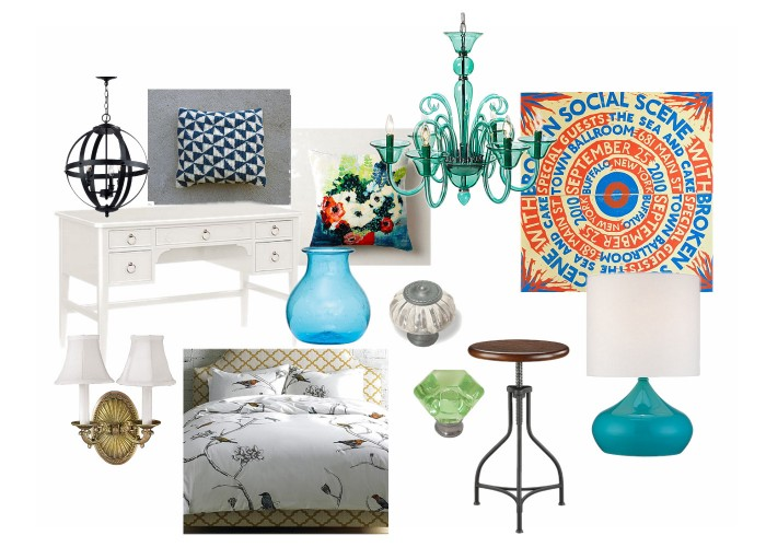 Mindy's Apartment - Mood Board