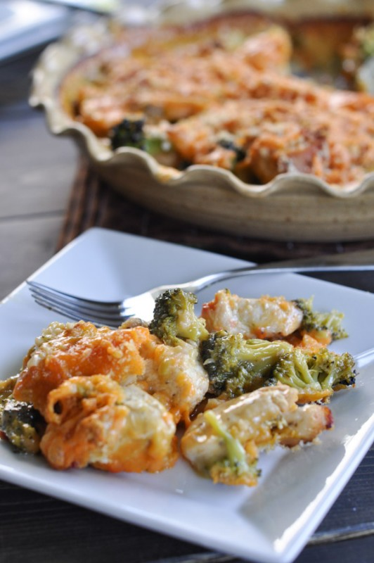 Chicken and Broccoli Divan -4