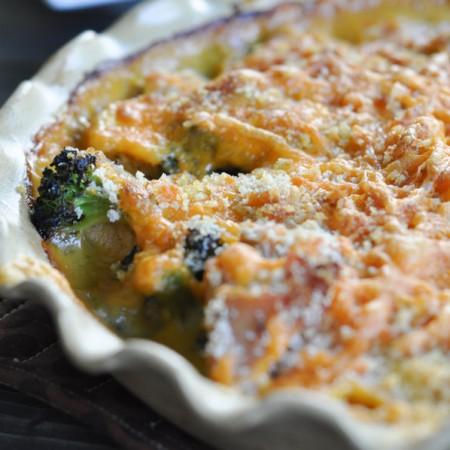 Chicken and Broccoli Divan -5
