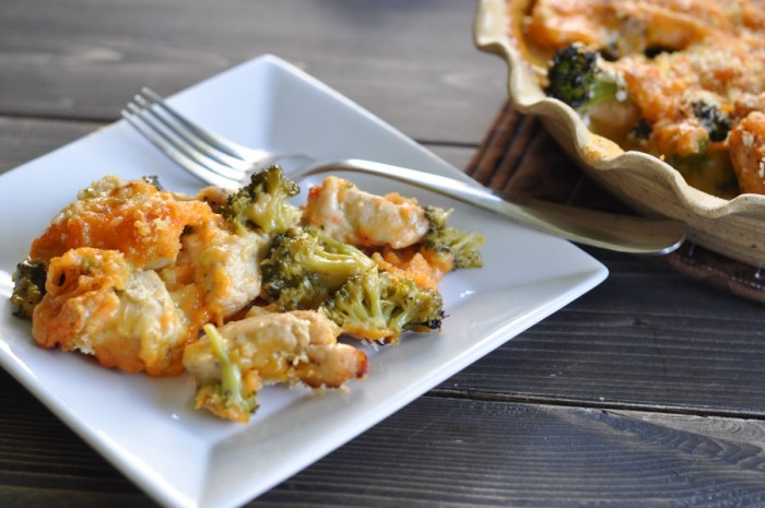 Chicken and Broccoli Divan -6