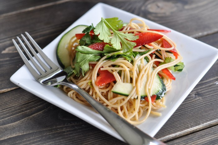 Noodle Salad with Wasabi Dressing-4
