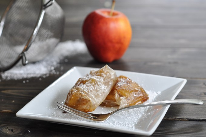 Rice Wrapper Mini Apple Pies-1