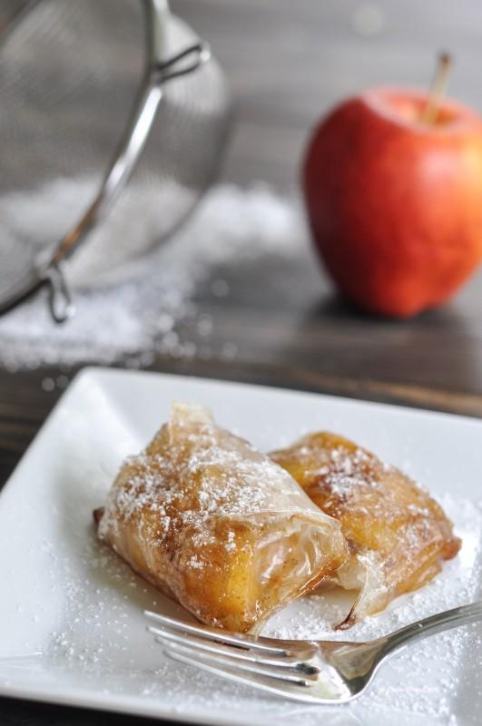 Rice Wrapper Mini Apple Pies-2