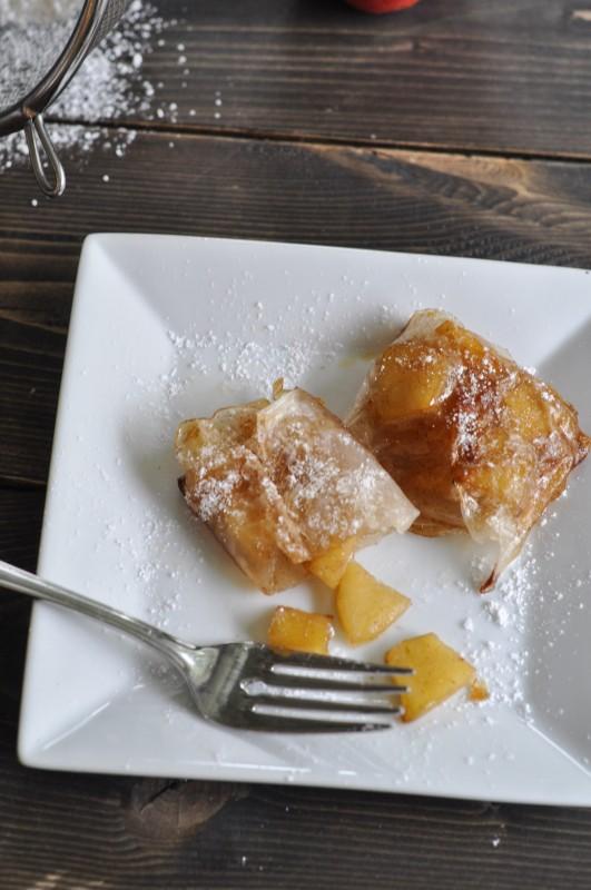 Rice Wrapper Mini Apple Pies-3