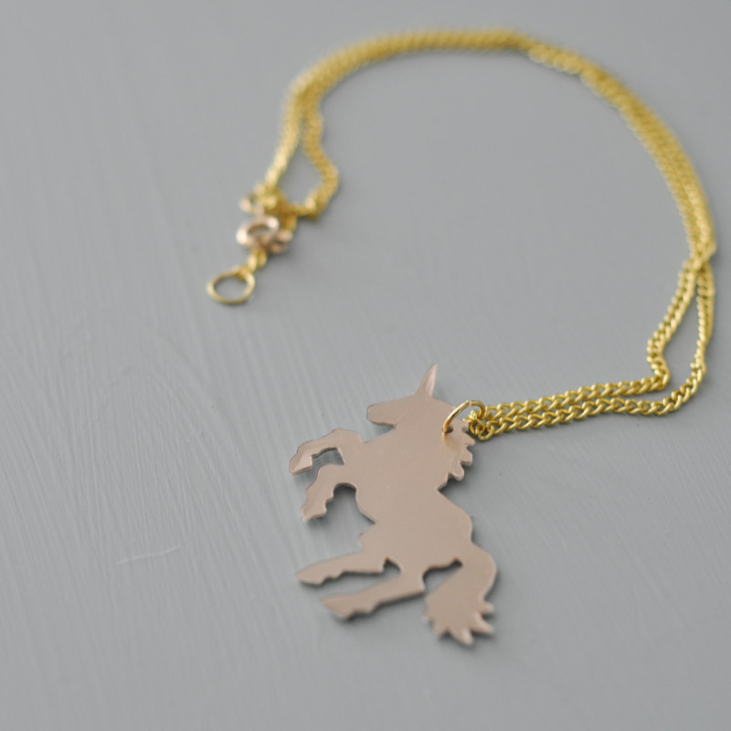 Unicorn Necklace-1