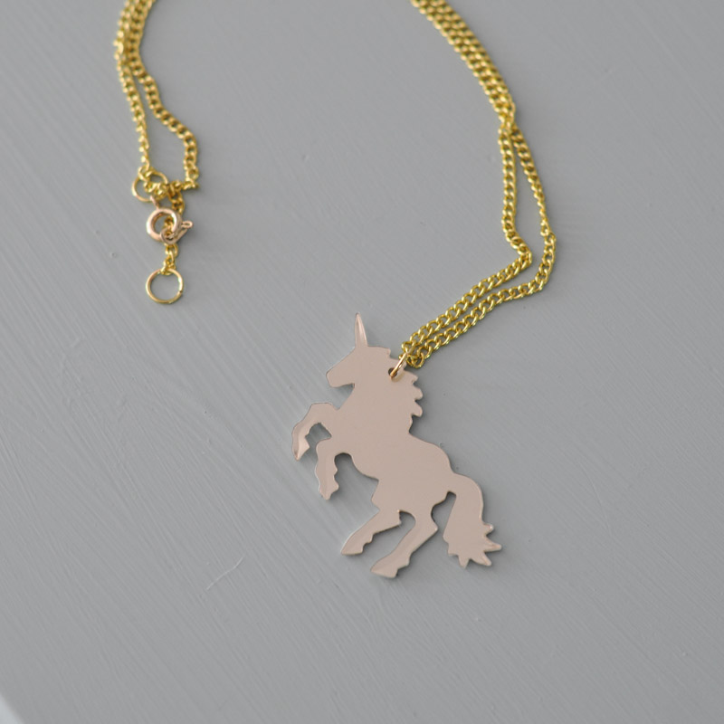 Unicorn Necklace-2