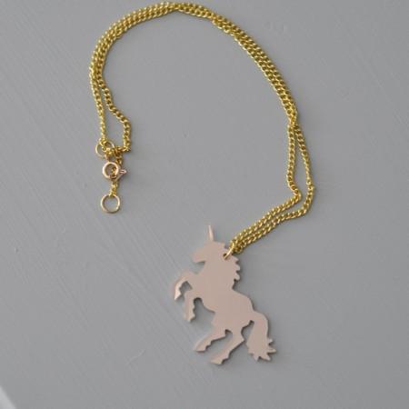 Unicorn Necklace-3
