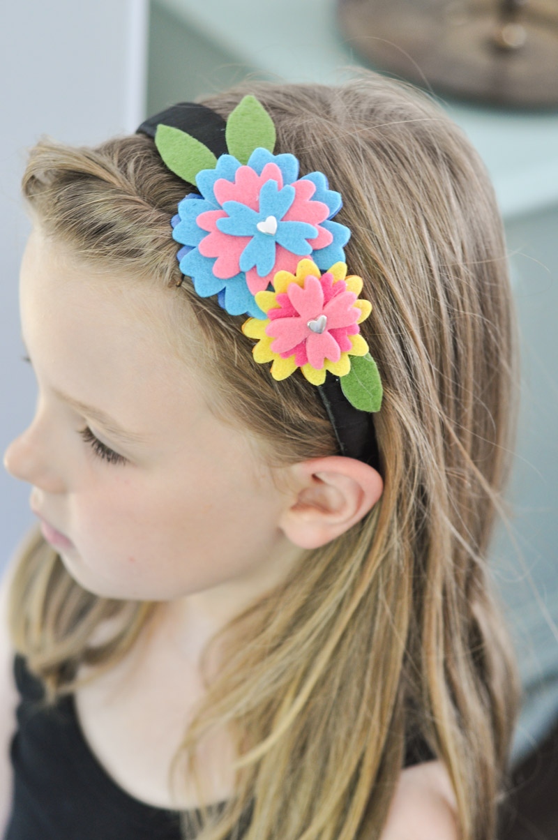 Felt Flower Headband Tutorial-12