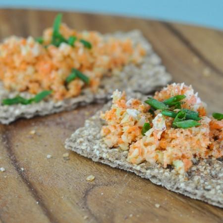 How to top Ryvita Crackers-6