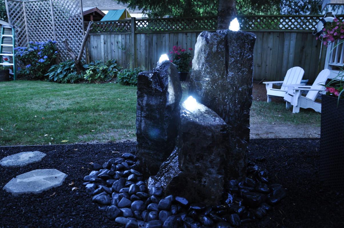 Installing Basalt Gurgler Water Feature Tutorial -1-4
