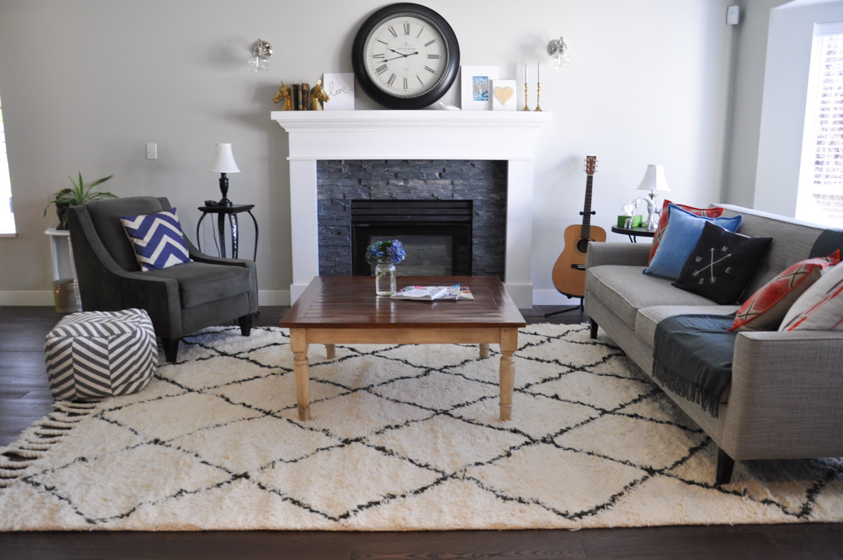 Marrakesh Rug in the Living Room -1-2
