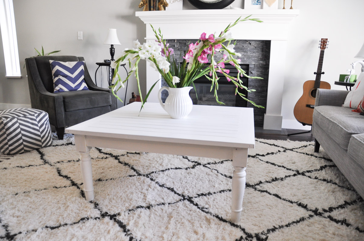 Painted Coffee Table with Fusion Casement-6